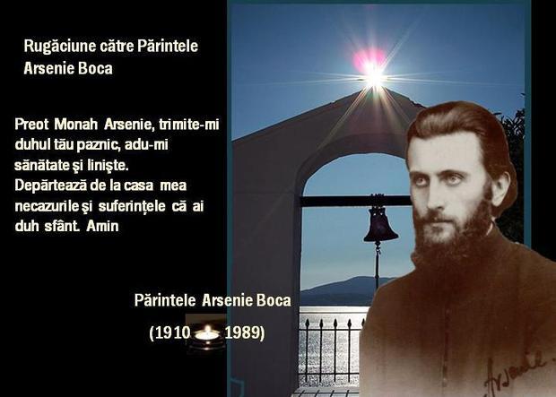 Părintele Arsenie Boca a fost și este o punte între noi și Mântuitor prin rugăciunile sale, dar și prin rugăciunile către el!
