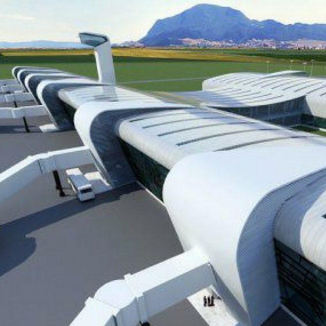 A treia etapă a construirii aeroportului Brașov-Ghimbav a început