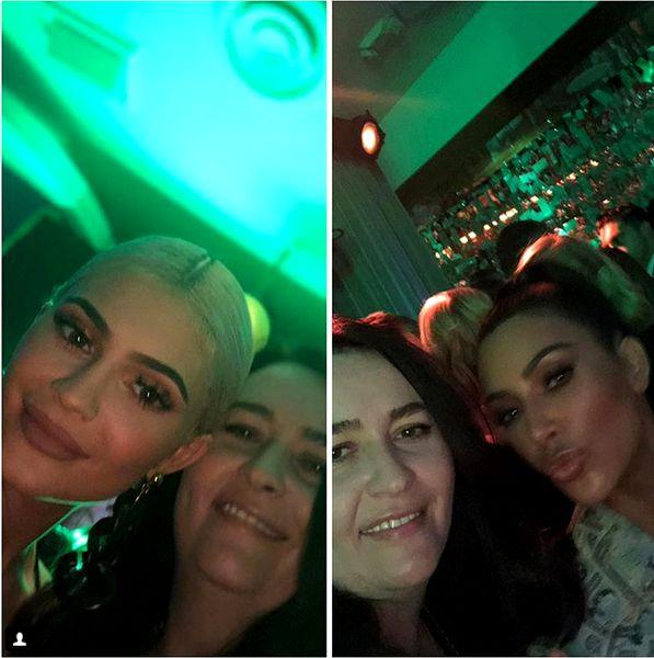 Amalia Nastase s-a fotografiat cu Kim Kardashian