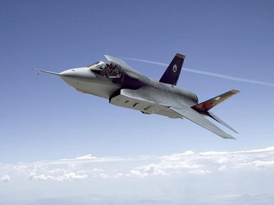 Avion F-35, din baza militara a armatei Statelor Unite ale Americii