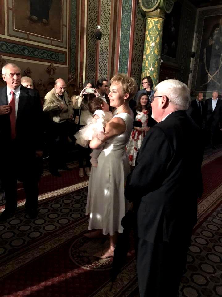 Dana Grecu și-a botezat copilul sâmbătă! Prezentatoare este în culmea fericirii