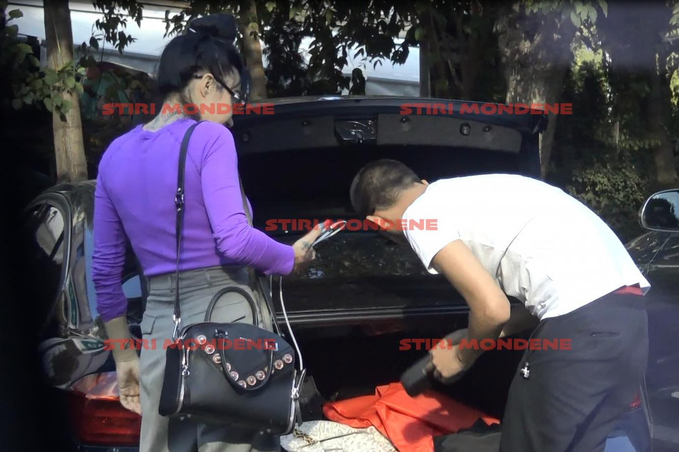 Dj Wanda își cumpără haine de la portbagaj