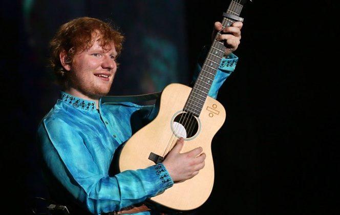 Celebrul Ed Sheeran va concerta în premieră în România