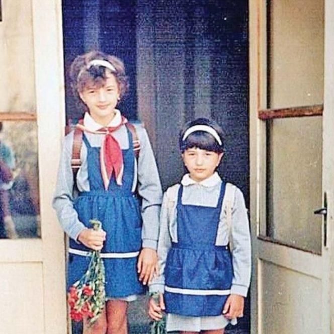 Fiicele fostului presedinte al tarii in primele zile de scoala