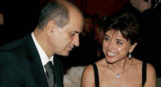 George Copos alături de fosta soţie, Cristina Copos