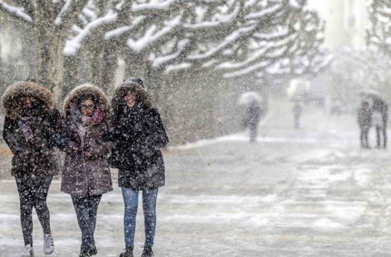 Va fi urgie! Iarna vine mai repede decat ne-am fi asteptat!