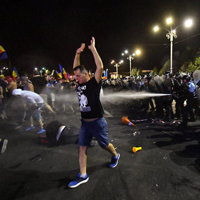 Jandarmii sunt acuzați că au condus acțiuni nelegale și nejustificate împotriva protestatarilor, în noaptea de 10 spre 11 august