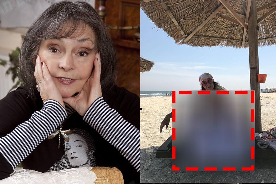 """""""Mama, ce picioare!"""" Imagini BOMBA cu Marina Voica, fotografiata PE PLAJA, la 82 de ani!"""