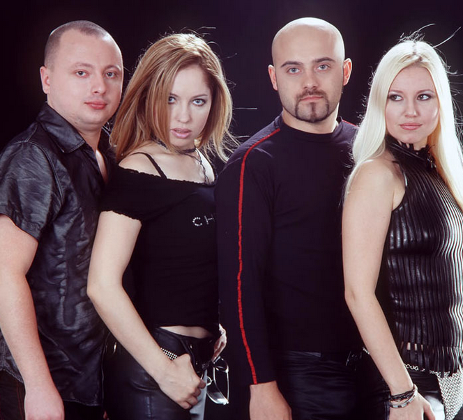 Mihaela Cernea în trupa Class