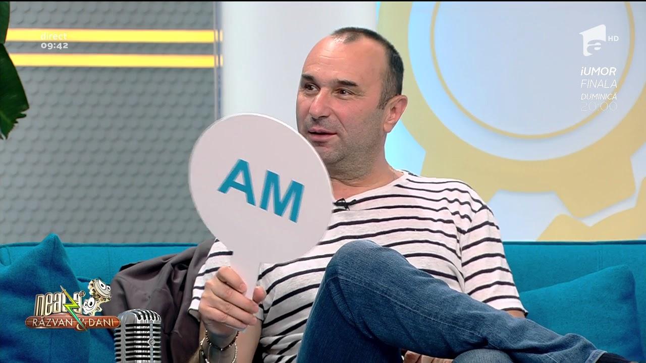 """Mariu Tucă a răspuns cinstit la provocarea """"An/N-am"""" că a fost îndrăgostit de profesoara de engleză, întrebarea venind de la bunul său prieten Horia Brenciu"""