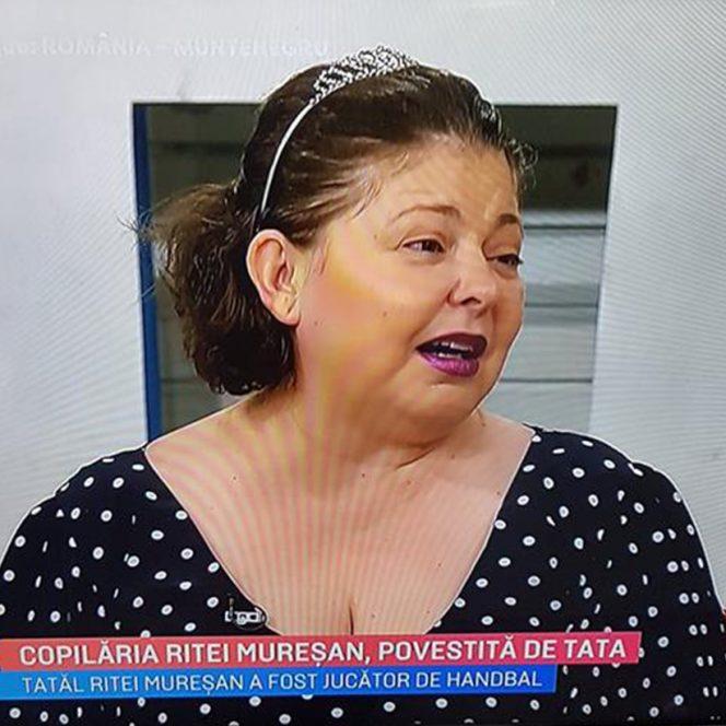 Rita Mureșan nu e deranjată de faptul că lumea o critică pentru că s-a îngrășat