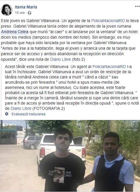 romanca gasita i nrepublica dominicana