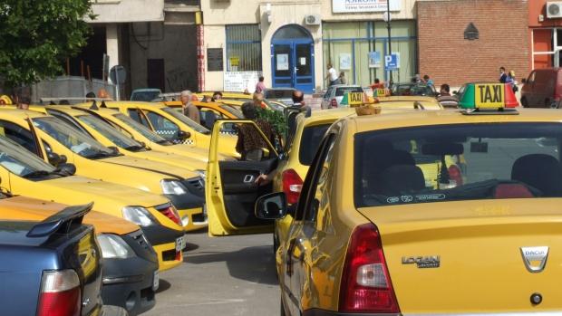 Taxiurile, verificate la sânge de nereguli