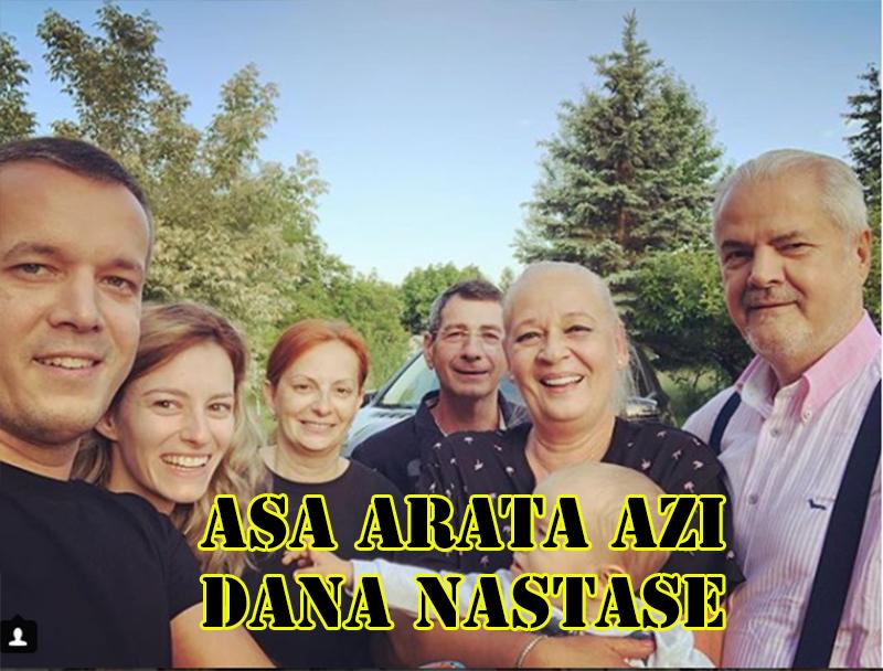 Dana Năstase are astăzi 63 de ani și este fericită alături de familia ei