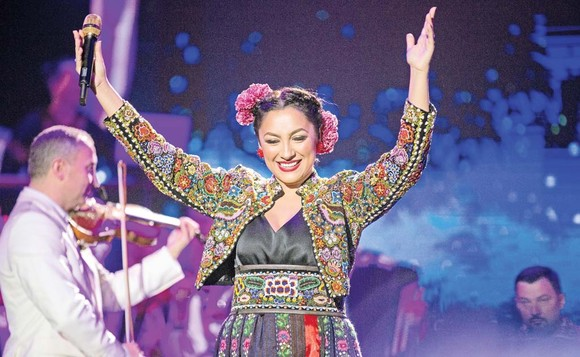 Andra, concert la Sala Palatului