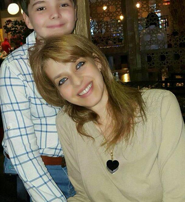 Miss România împreună cu băiețelul ei, Luca Frățilă
