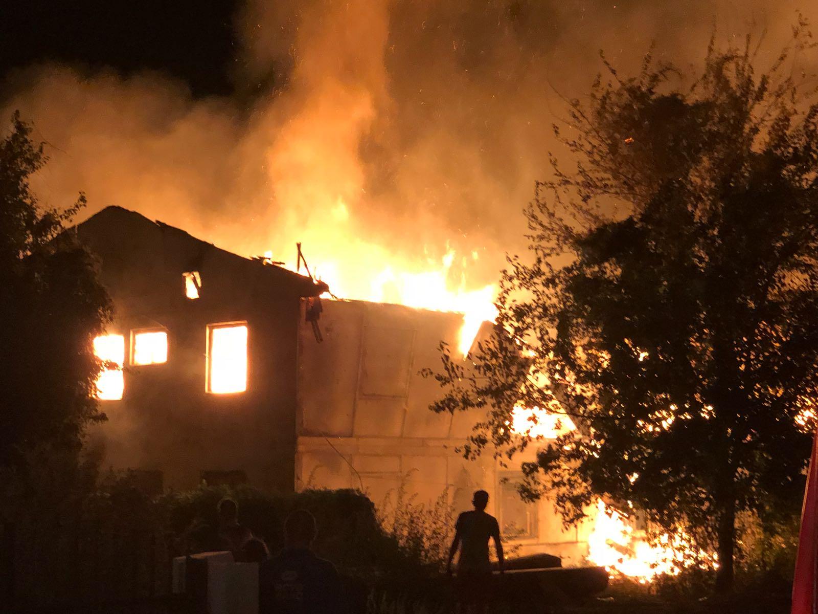 Incendiu casei din Cernavodă în care s-au stins două vieți