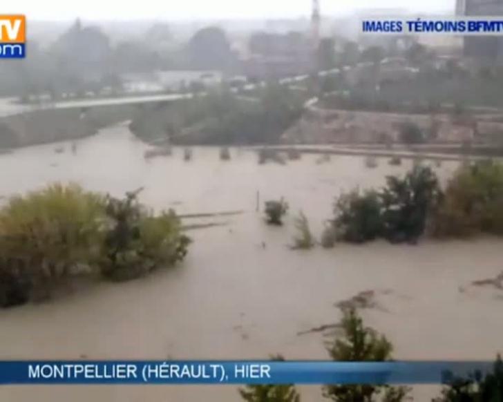 Un cod rosu de vreme severa a fost semnalat in Aude, Franta