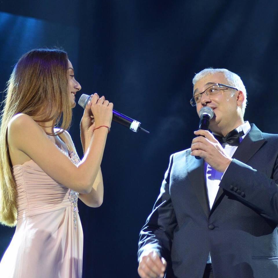 Daria Crișan a moștenit talentul tatălui său
