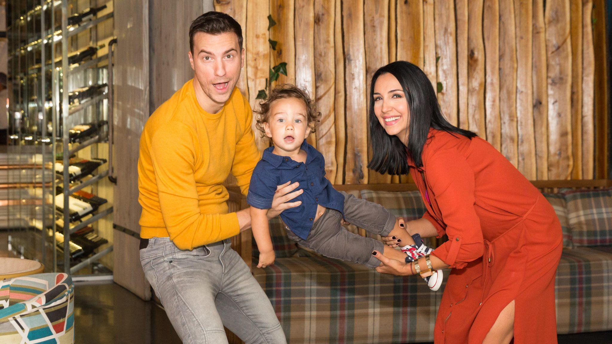 Emma Zeicescu și Claudiu Popa au împreună un copil