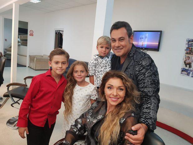 Soția și cei trei copii ai lui Ionuț Dolănescu