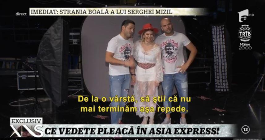 Gina Pistol va pleca în Asia Express, cu Smiley la purtător