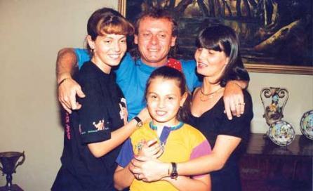 Ilie Balaci simțea că soția lui Dana i-a fost hărăzită, iar copiii le-au împlinit iubirea care a început încă din clasa a noua