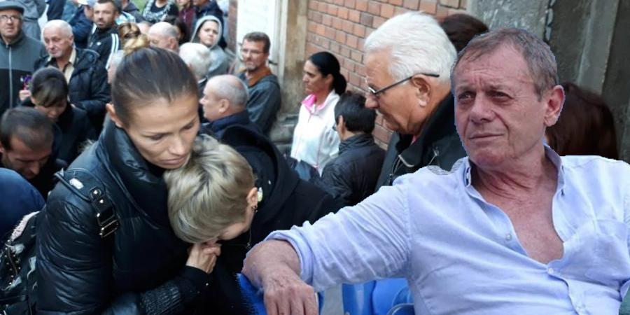 Momente tragice la priveghiul lui Ilie Balaci! I s-a facut rau si...