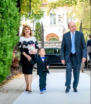 Traian Băsescu, Maria Băsescu și nepoțelul lor
