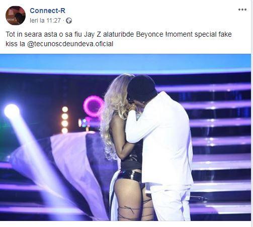Connect-R s-a sărutat cu o blondă