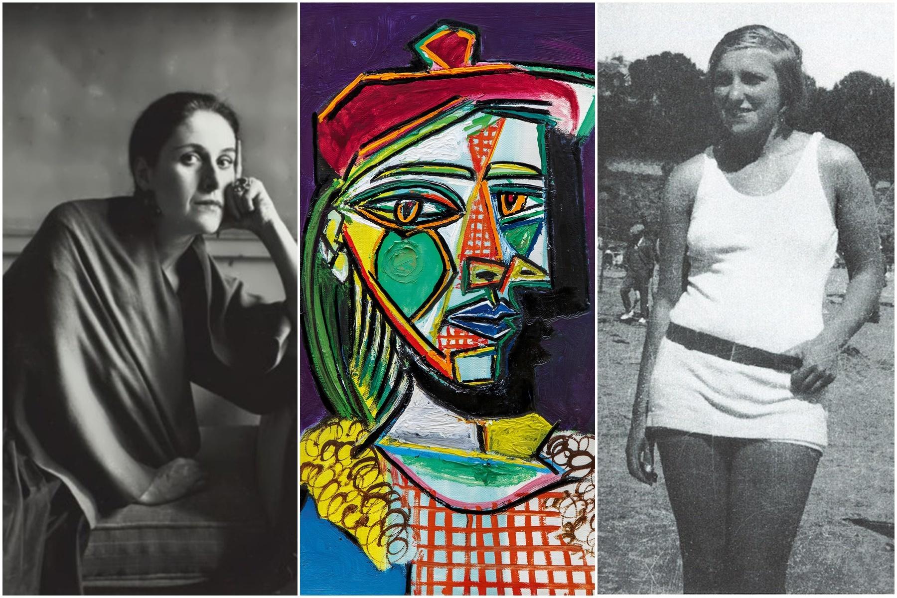 """Pablo Picasso - """"Femeie cu beretă și rochie cadrilată"""", 64.670.000 de dolari"""