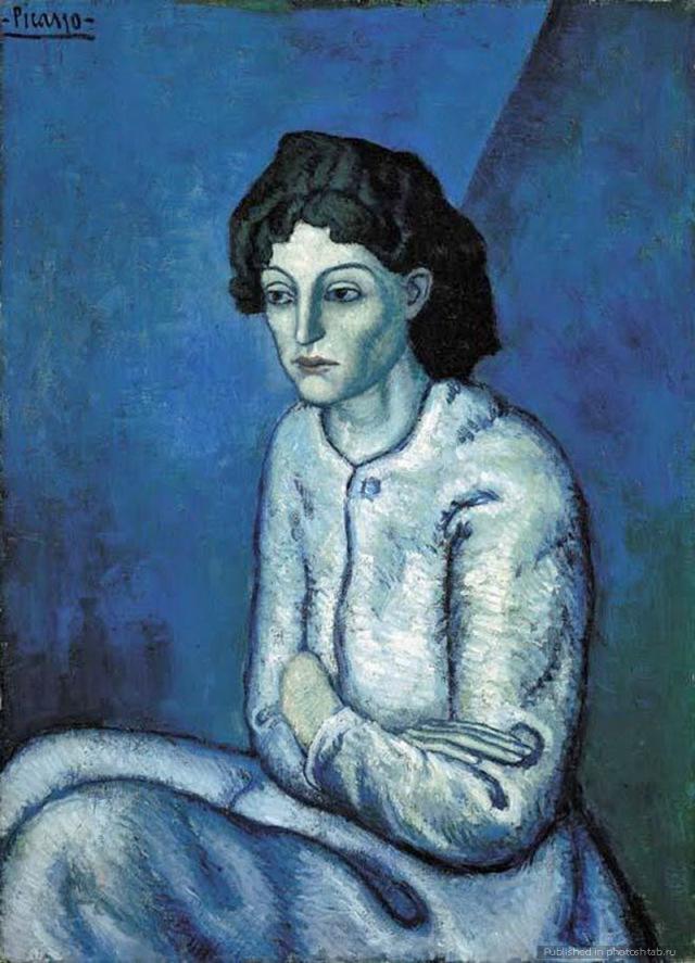 """Pablo Picasso - """"Femeie cu braţele încrucişate"""", 55.006.000 de dolari"""