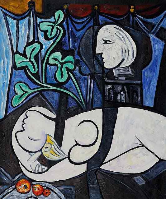 """Pablo Picasso - """"Nud, frunze verzi și bust"""" / 116.482.000 de dolari"""