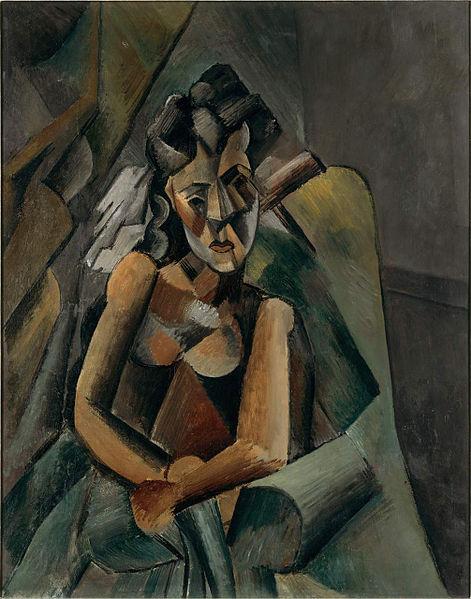 """Pablo Picasso - """"Femeie așezată"""", 63.220.336 de dolari"""