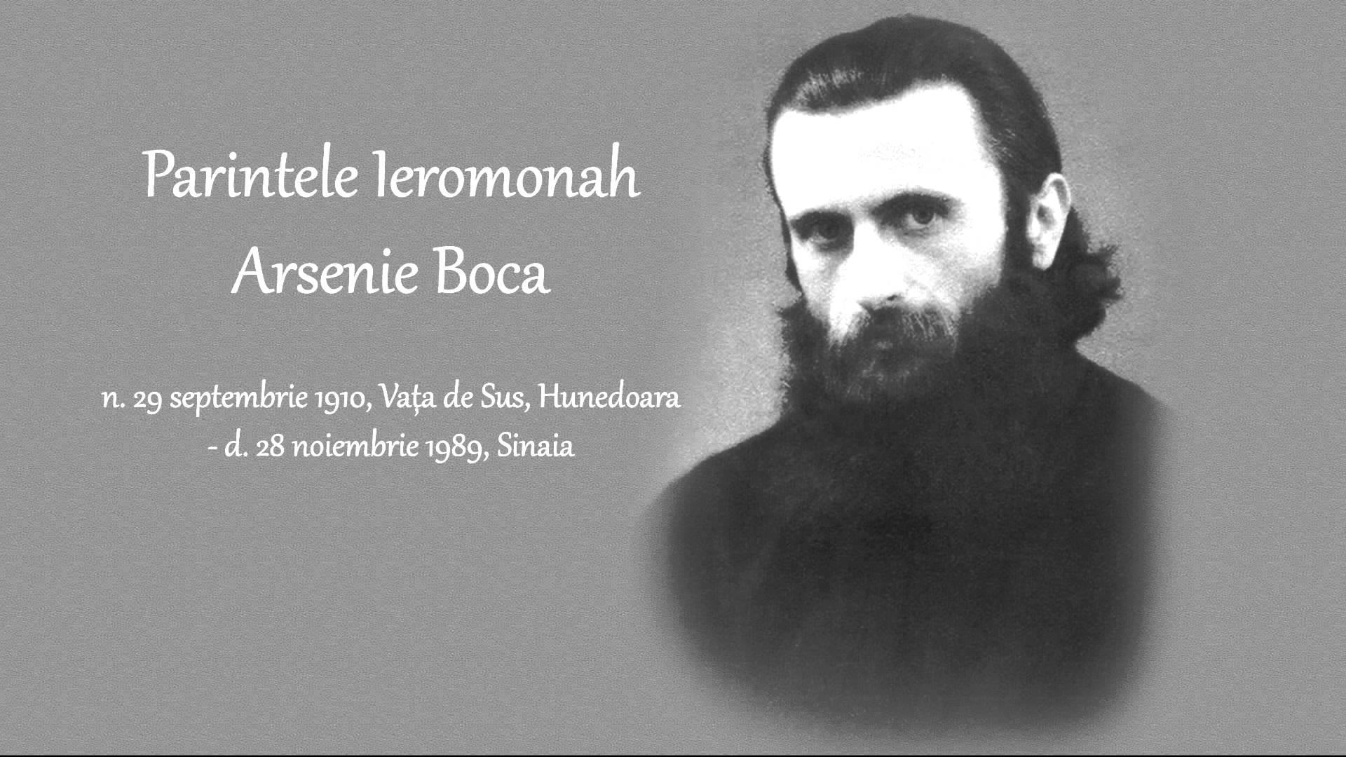 Prezicere Arsenie Boca pentru România