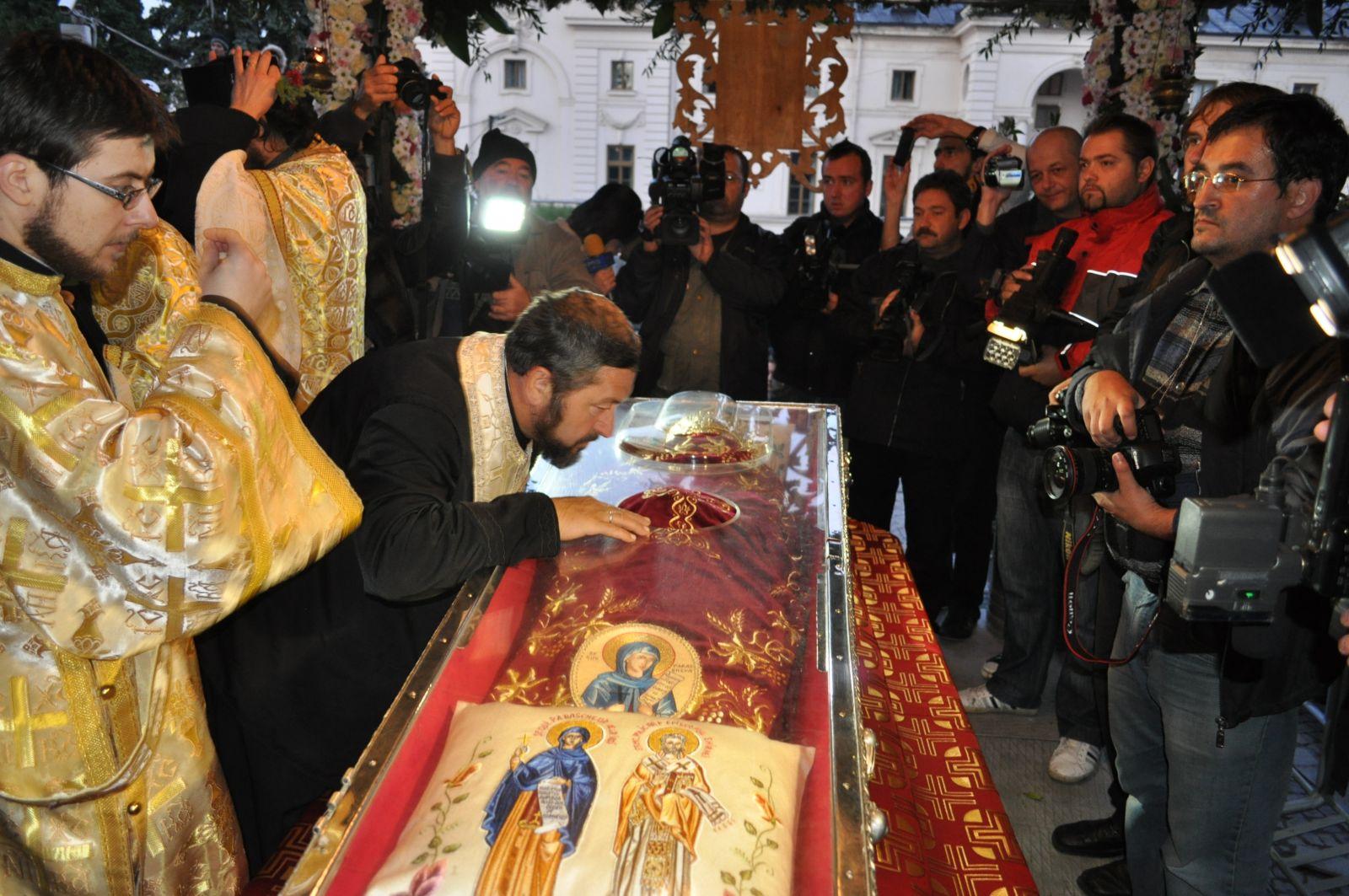 pelerinajul Sfintei Parascheva va începe pe data de 14 octombrie