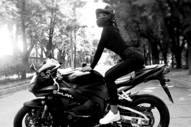 Olga Petrova, tânăra de 22 de ani, a murit într-un accident cu motocicleta pe care o conducea