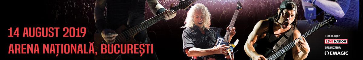 Prețul biletelo OLX pentru concertul Metallica 2019 sunt accesibile
