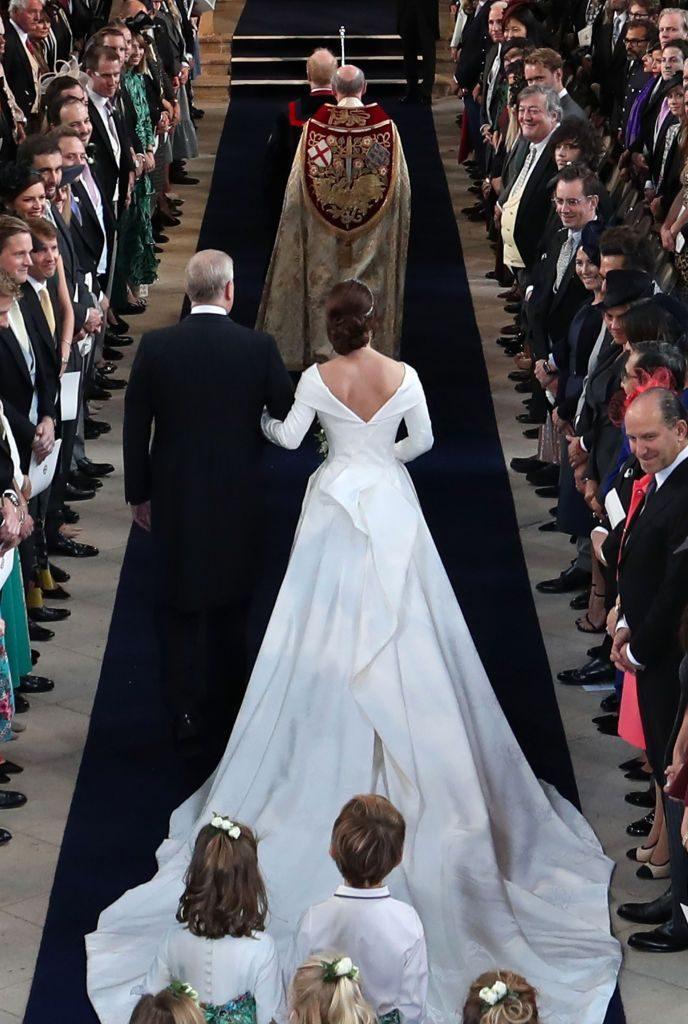 Ceremonia religioasă a prințesei Eugenie, nepoata Reginei Elisabeta