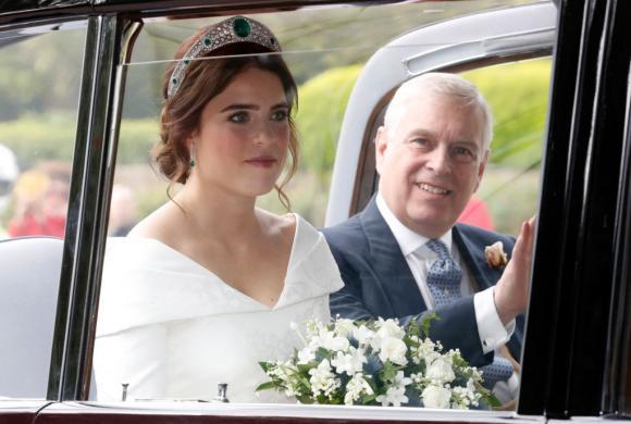 Prințesa Eugenie s-a măritat cu un om de afaceri