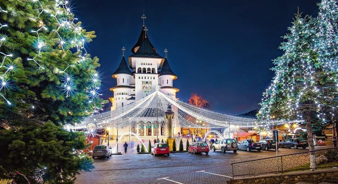 Revelion 2019 - Bucovina, Gura Humorului, Catedrala patriarhală