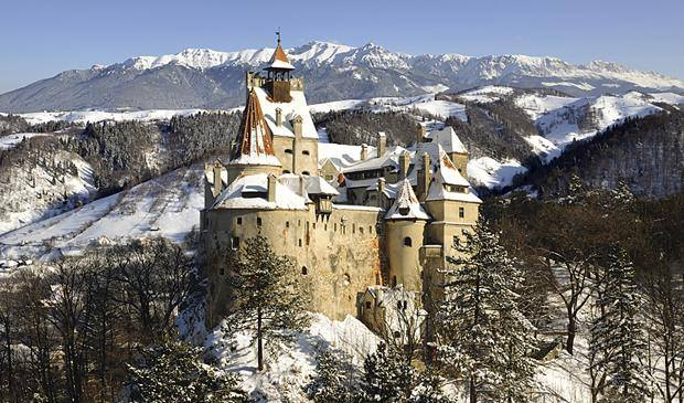 Revelion 2019 - Castelul Bran, iarna
