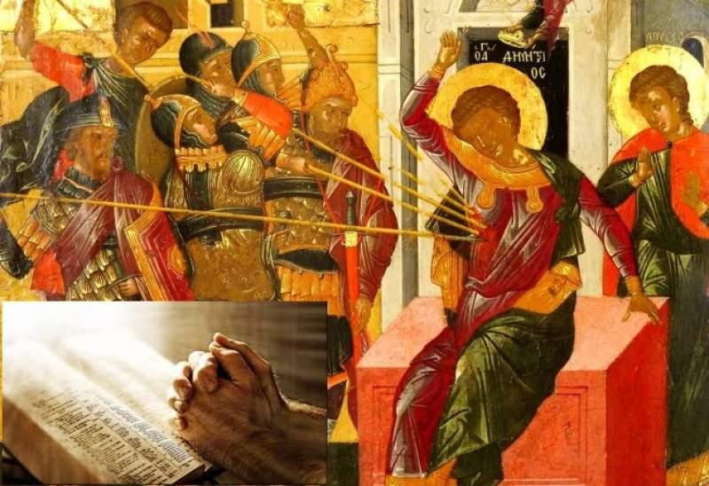 SFântul Dumitru a fost ucis cu lancea în anul 306 pentru credința sa în Iisus Htistos și apoi a fost martirizat pentru acest sfârșit tragic