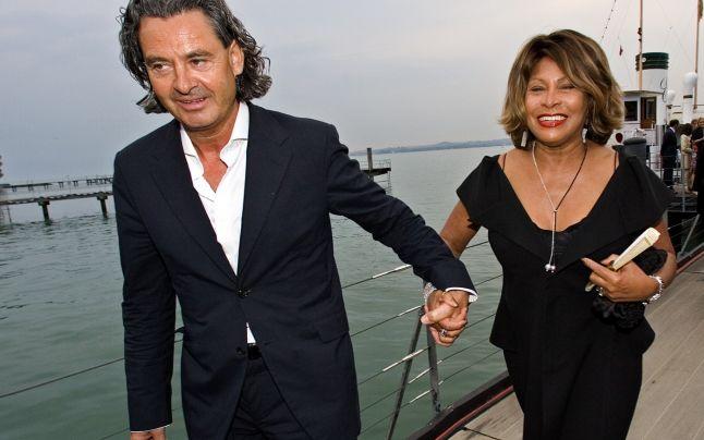 Tina Turner alături de soțul său, Erwin Bach