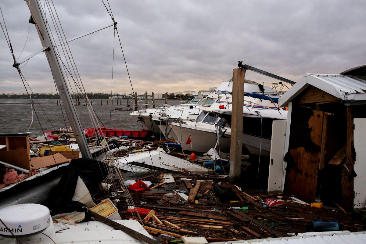Uraganul Michael a distrus Florida