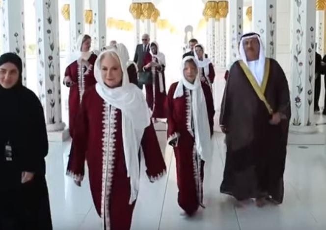 Viorica Dăncilă, parte din delegația guvernamentală română prezemtă la Emiratele Arabe Unite