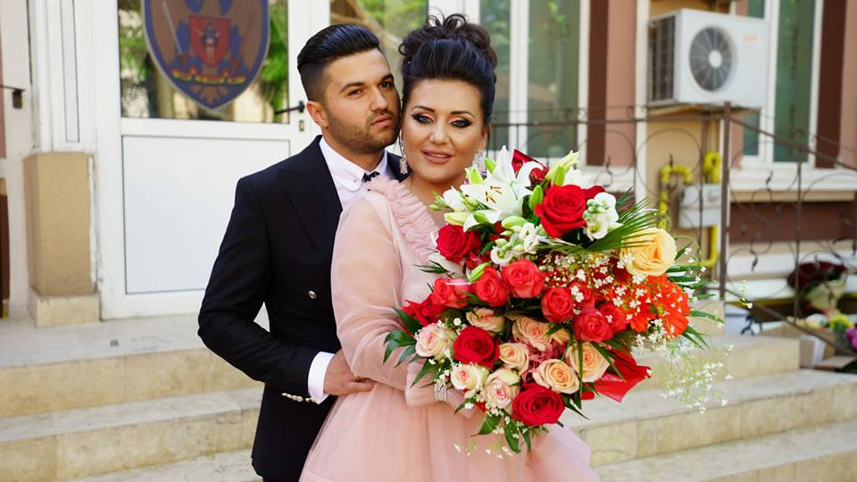 Bianca Rus și Antonio, soțul său