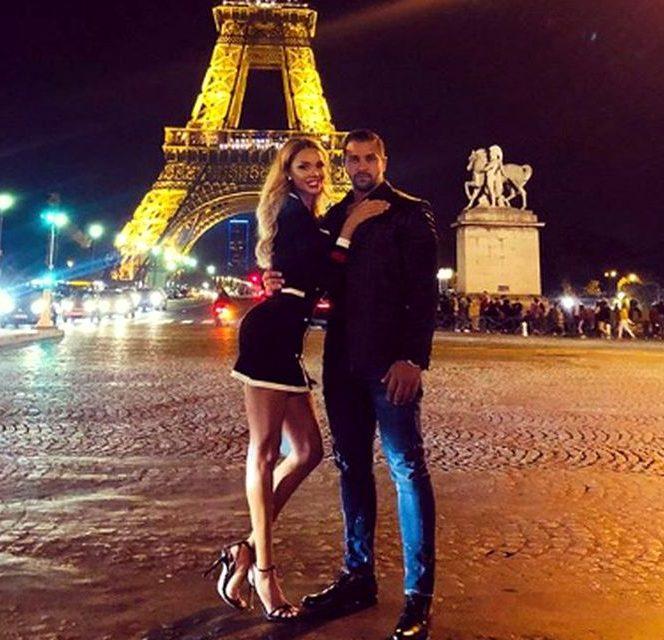 Bianca Drăgușanu împreună cu noul său iubit, Alex Bodi