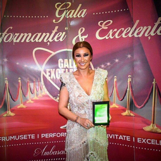 Anamaria Prodan Reghecampf, apariţie uimitoare la Gala Performanţei şi Excelenţei 2018!