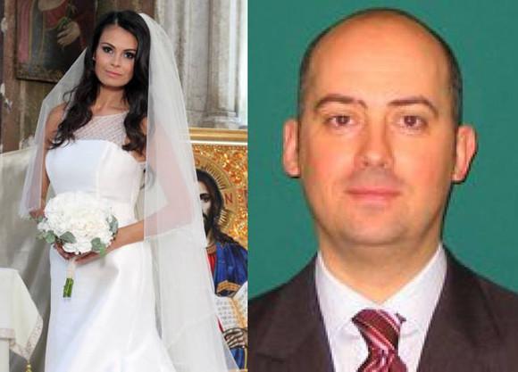 Anca Serea și fostul soț, Filip Poplingher